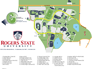 Maps Directions Rogers State University