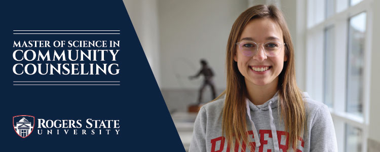 girl smiling in RSU sweatshirt